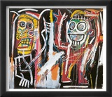 Dustheads, 1982 Prints by Jean-Michel Basquiat