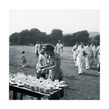 Cricket Near Lewes Sussex Giclee Print by John Gay