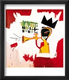 Trumpet, 1984 Print by Jean-Michel Basquiat