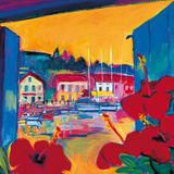 Harbour View Giclee Print by Gerry Baptist