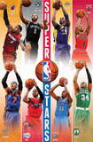 NBA Superstars 2012-13 Poster