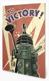 Doctor Who - Victory   Wood Sign