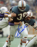 Larry Csonka Miami Dolphins Autographed vs Minnesota Vikings Photo