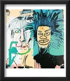 Dos Cabezas, 1982 Poster by Jean-Michel Basquiat