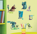 Monsters Inc Peel & Stick Wall Decals Autocollant mural