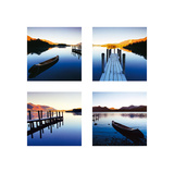 Land Of Lakes Giclee Print by Chris Simpson