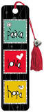 Peace Love Hope - Amylee Weeks Beaded Bookmark Bookmark