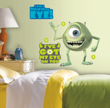 Monsters Inc Giant Mike Wazowski Peel & Stick Wall Decals Mode (wallstickers)