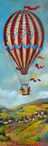 Air Balloon II Giclee Print by Georgie 