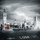 London Bus II Giclee Print by Jurek Nems