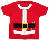 Santa Claus Costume Tee (Slim Fit) T-paita