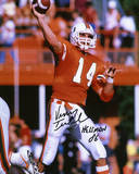 Vinny Testaverde Miami Hurricanes Autographed with &quot;Heisman 86&quot; Inscription Photo