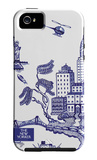 The New Yorker - A view of New York City - iPhone 5 Case iPhone 5 Case by Pamela Paparone