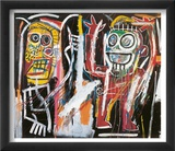Dustheads, 1982 Taide tekijn Jean-Michel Basquiat
