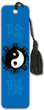 Yin Yang Blue Beaded Bookmark Bookmark
