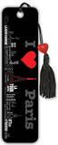Maxwell Hutchinson - City Scape - I Heart Paris Beaded Bookmark Bookmark
