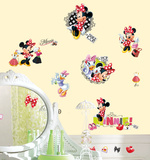Mickey & Friends - Minnie Loves to Shop Peel & Stick Wall Decals Wall Decal