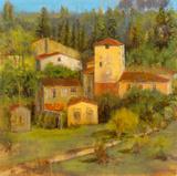 Tuscany Villaggio Giclee Print by  Longo