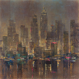 City Stage I Giclee Print by  Longo