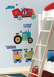 Transportation Giant Peel & Stick Wall Decals Wall Decal