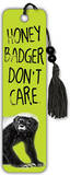 Honey Badger Don&#39;t Care Beaded Bookmark Bookmark