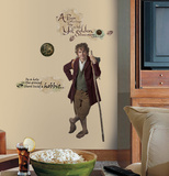 The Hobbit - Bilbo Baggins Giant Peel &amp; Stick Wall Decals Wall Decal
