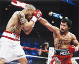 "Manny Pacquiao Autographed vs Miguel Cotto Photograph with ""Pacman"" Inscription Photo"