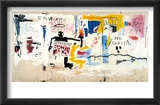 Per Capita, 1981 Affiches par Jean-Michel Basquiat