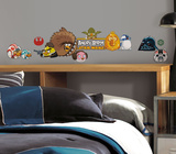Angry Birds Star Wars Peel & Stick Wall Decals Vinilos decorativos