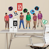 1 Direction Peel & Stick Wall Decals Vinilos decorativos