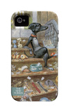 The New Yorker - Tag Sale - iPhone 4/4s Case iPhone 4/4S Case by Peter de Sève