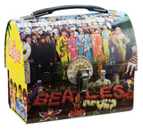 The Beatles Sgt Pepper&#39;s Dome Tin Lunchbox Lunch Box
