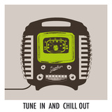 Tune In and Chill Out Giclee Print by Ben James