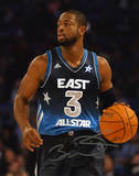 Dwyane Wade Miami Heat All-Star Game Autographed Photo (Hand Signed Collectable) Photo