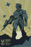 Halo 4: Forward Unto Dawn - UNSC Prints