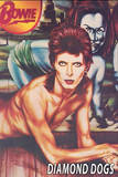 David Bowie - Diamond Dogs Poster
