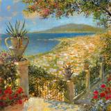 Portofino Bay II Giclee Print by  Longo