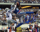 Calvin Johnson Detroit Lions Autographed vs Dallas Cowboys Photo