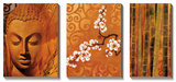 Buddha Panel I Posters af Keith Mallett