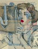 Feminine Mystique II Giclee Print by  Lorello