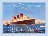 Queen Mary Giclee Print by  The Vintage Collection