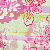 Flower Mix II Giclee Print by Lucy Meadows