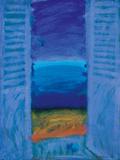 Blue Shutter II Giclee Print by Sara Hayward