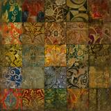 Mosaik II Giclée-Druck von  Douglas