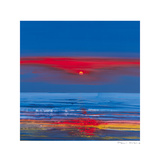 Fire Over Water Giclee Print by Paul Evans