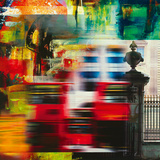 London Jazz II Giclee Print by Georges Generali