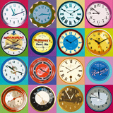 Clock Collection Giclee Print by Ben James