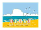 Summer Bay I Giclee Print by Emily Burningham