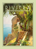 Riviera Giclee Print by  The Vintage Collection