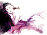 Christina Giclee Print by Sharon Pinsker